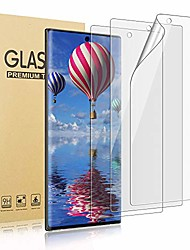 cheap -[3 pack] screen protector [compatible fingerprint] [self healing] [case friendly] [anti-bubble] clear hd tpu protective film for samsung galaxy note 10 plus 6.9 inch