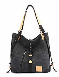 cheap -women's handbag shoulder bag canvas large tote bag ladies fashion hobo bag top handle bag multifunctional handbag for travel beach shopping