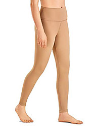 cheap -women& #39;s 7/8 high waisted yoga pants workout leggings naked feeling i-25 inches naked barley small