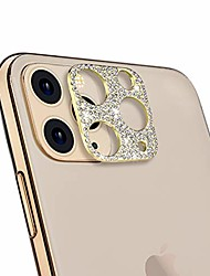 cheap -camera lens protector for iphone 11 pro/iphone 11 pro max,  bling diamond camera lens cover sticker protector designed for iphone 11 pro/pro max - gold