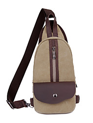 cheap -Unisex Bags Sling Shoulder Bag Daily Khaki Green Brown