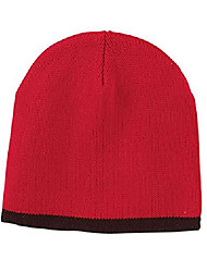 cheap -bx010 5-panel twill trucker cap red one size