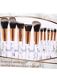 cheap -10 Pieces Of Marble Makeup Brush 5 Large 5 Small Make Up Brush Beauty Tool Set Marble Makeup Brush Set