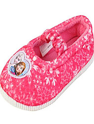 cheap -elsa anna girl's pink warm comfort indoor slipper (parallel import/generic product) (8 m us toddler)