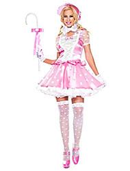 cheap -5 pc. ladies dress set - medium/large - pink