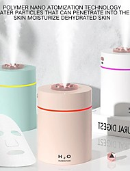 cheap -Air Humidifier Essential Oil Diffuser Mini Humidifier Mist Air Purifier with LED Night Light USB Portable Humidifiers for Car