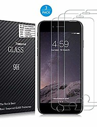 cheap -[3 pack] iphone 7 plus screen protector -[9h hardness] [3d touch compatible] [crystal clear] [bubble free] tempered glass screen protector for apple iphone 7 plus [5.5inch]