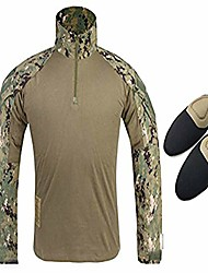 cheap -tactical military emerson gen3 g3 men long sleeve shirt with elbow pads aor2 (xxl)