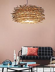 cheap -1-Light LED Pendant Light Wood / Bamboo Wood / Bamboo Novelty Others Modern Contemporary 220-240V