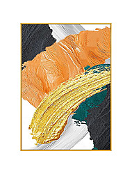 cheap -100% Hand Painted Large Abstract Painting Modern Abstract Painting Colorful Life Office Wall Art Original Abstract Textured Art Hand Painted