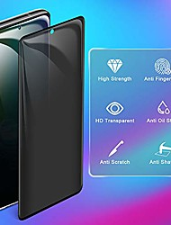 cheap -Privacy Screen Protector For Samsung Galaxy S21 5G, Tempered Glass Anti-spy Anti-scratch No Bubble 9H Hardness 3D Touch Compatible For Samsung Galaxy S20 plus S10 S10Lite S10E