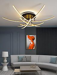 cheap -3/6/9 Heads LED Ceiling Light Double Light Source Stepless Dimming Modern Nordic Strip Light Study Bedroom Living Room Office AC220 V