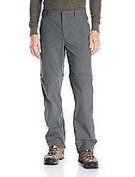 cheap -men's traveler stretch convertible pants, charcoal, 36x32