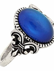 cheap -gothic flower pattern antique sterling silver plating oval stone color change mood ring mj-rs008 (9)
