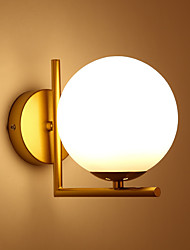 cheap -Creative Modern Nordic Style Wall Lamps & Sconces Bedroom Shops Cafes Aluminum Wall Light IP20 110-120V 220-240V 60 W