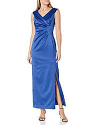 cheap -women's ball gown, cerulean blue, 8