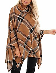 cheap -top coat shoes women outerwear long hooded cotton-padded jacket bandage coats with pocket women fashion casual o neck long sleeve plaid cardigans cloak tops sweaters (yellow, xl)