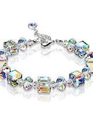 cheap -Women's Bead Bracelet Bracelet Beads Fashion Simple European Plastic Bracelet Jewelry White For Anniversary Gift