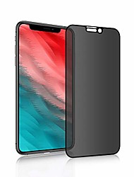 cheap -iphone xr privacy screen protector [anti-glare] [3d curve] 9h hardness scratch resistance, suitable for apple iphone xr black