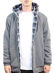 cheap -men's reversible fleece hoody (2x-large,charcoal)