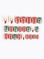 cheap -F741-64 New Geometric Series Fake Nail Finished Nail Art Patch Fake Nail Wearing Nail Art Nail Patch Color Nail Patch