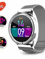 cheap -smart watch,womens android diamond smart watch,fitness tracker, compatible with ios, android phones, sports activity tracker with sleep/heart rate monitor/physical prediction