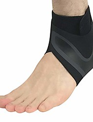 cheap -ankle stabilizer brace, compression women men breathable adjustable foot support wrap reduce pain sleeve for sport, ankle sprain, injury recovery