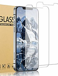 cheap -[2 pack]  compatible with iphone 12 pro max screen protector tempered glass film 9h hardness 6x stronger scratch resistant case-friendly touch sensitive bubble free (6.7 inch)