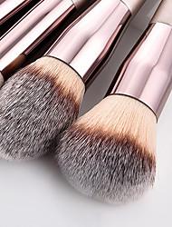 cheap -New 10 Thread Makeup Brush Champagne Gold Makeup Brush Set Powder Brush Beauty Tool Set