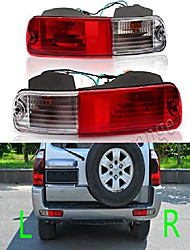cheap -rear tail brake light tail lamp with bulbs signal bumper reflector for mitsubishi 2003 2004 2005 2006 2007 pajero montero v73 v75 v77 2003 2004 2005 2006 passenger side (right)