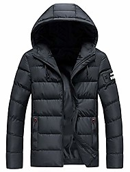cheap -men's mountain snow waterproof ski jacket down alternative jacket outdoor sports windproof water-resistant