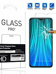 cheap -compatible with xiaomi redmi note 8 pro screen protector  [1 pack] high definition anti-scratch waterproof cell phone protective film tempered glass for xiaomi redmi note 8 pro -1pcs
