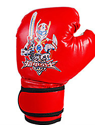cheap -Boxing Gloves For Boxing Full Finger Gloves Breathable Wearproof Protective PU(Polyurethane) Black Red Blue