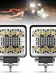 cheap -4 inch led work lights - 2pcs 8000lm led pods - cree led spot flood combo beam light bar - driving light for truck atv utv suv boat tractor