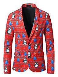 cheap -Santa Claus Coat Men's Adults' Christmas Christmas Christmas Polyester Coat