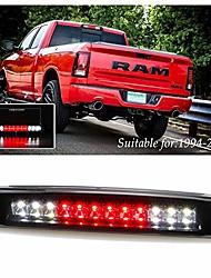cheap -led 3rd third high mount brake light cargo lamp for 1994-2001 dodge ram 1500 2500 3500 electroplating housing smoke lens