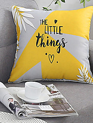 cheap -Cotton and linen Style Home Comfortable Pillow Case Cover Living Room Bedroom Sofa Pillow Case cover