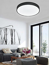 cheap -30cm LED Ceiling Light Corridor Lamp Nordic Flush Mount Lights Wood Kitchen Entrance Hall Porch Balcony Painted Finishes 110-120V 220-240V FCC VDE