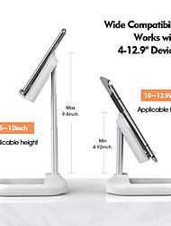 cheap -Bed / Desk Mount Stand Holder Foldable / Adjustable Stand Adjustable Silicone / Aluminum Alloy / ABS Holder