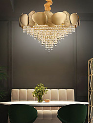 cheap -11 Bulbs 60 cm Chandelier Crystal Painted Finishes Traditional / Classic 110-120V / 220-240V