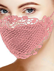 cheap -2 pcs Mask Cotton Printing Mask Adult Mask Manufacturers Can Customize Cross-border mask Lace Multi-color Optional