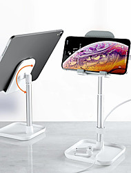 cheap -Phone Holder Stand Mount Bed Desk Cell Phone Adjustable Stand Phone Desk Stand Adjustable Aluminum Alloy Phone Accessory iPhone 12 11 Pro Xs Xs Max Xr X 8 Samsung Glaxy S21 S20 Note20