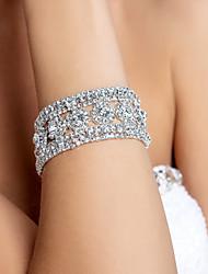 cheap -Women's Bracelet Geometrical Lucky Fashion Rhinestone Bracelet Jewelry Gold / Silver For Wedding