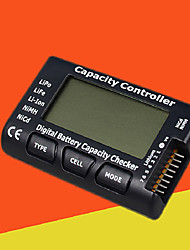 cheap -High precision 1-7s lithium battery voltage and charge display battery function tester discharge