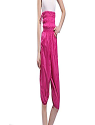 cheap -women weight-loss pant fitness product weight-loss costume slimming short pant fifth hight weight band drawstring sweat clothes rose red xxxl