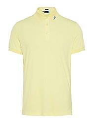 cheap -j lindeberg new kv reg fit tx jersey polo, yellow (large)