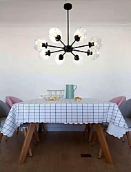 cheap -8-Light 90 cm Sputnik Design Chandelier Metal Glass Painted Finishes Nordic Style 110-120V / 220-240V
