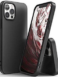 cheap -air-s compatible with iphone 12 pro max case cover, premium matte shockproof tpu silicone flexible thin fit phone case for 6.7-inch (2020) - black