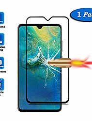 cheap -[2 pack]  [full coverage] compatible with 7.2 inch huawei mate 20 x screen protector, anti-scratch hd tempered glass protective film for huawei mate 20 x 2 pack
