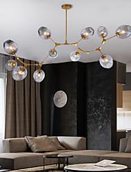 cheap -5/6/7/9/11 Heads LED Pendant Light Modern Nordic Chandelier Living Room Dining Room Bedroom Metal 110-120V 220-240V